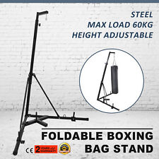 Foldable Boxing Bag Stand Heavy Punching Fitness Practice Punch Bracket HOT