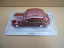 Legendary Cars SIMCA 8 RED ROSSA  1:43 Die Cast  [MV39-2]