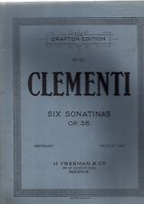Clementi - 6 Sonatas op.36 (Grafton Edition sheet music 1936)