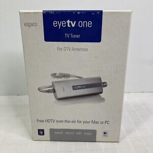 Elgato Eyetv One For PC Or MAC Free HDTV over the air Turbo 264