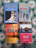 Lotto tre libri di Tiziano Terzani e uno di Angela Terzani Staude