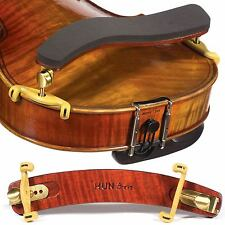 Kun Bravo Collapsible Viola Shoulder Rest with Brass Fittings - FAST SHIPPING!