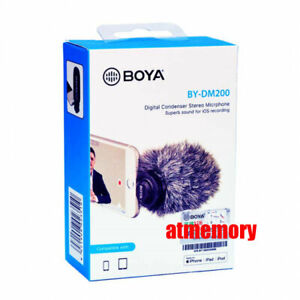 Boya BY-DM200 Lightning Condenser Microphone for iOS devices