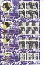 ST HELENA MNH STAMP SHEETS 2007 QEII DIAMOND WEDDING SG 1023-1026