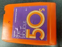 The Fabulous 50's Vol. 1 various artists Columbia Pop 8 track tape VG tested