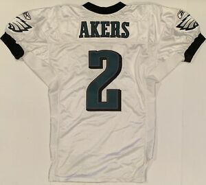 2006 David Akers Philadelphia Eagles Game Worn Football Jersey MeiGray auth NFL