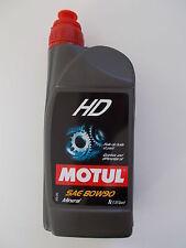 MOTUL OLIO HD 80W90 PER CAMBI E DIFFERENZIALI SAE 80W90