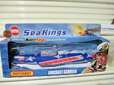 Rare Lesney Matchbox 1975 Sea Kings K-304 Aircraft Carrier Red Deck Mint Boxed
