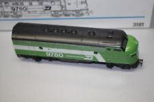 Märklin 3181 US Diesellok F7 Burlington Northern Spur H0 OVP