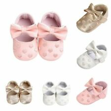 Baby Newborn Girl Crib Shoes kids Non-slip Soft Sole Sneaker Prewalker for 0-18M