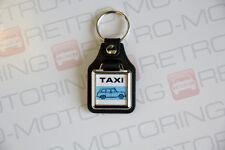 Austin FX4 Taxi Keyring - Leatherette Classic Hackney Black Cab Keyfob