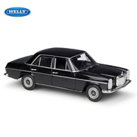Welly 1:24 Mercedes Benz 220 Diecast Model Car Collection Gift 3 Color Options