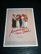 STEEL MAGNOLIAS, film card (Sally Field, Dolly Parton, Shirley MacLaine)