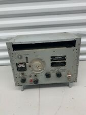 Vintage Frequency Meter AN/URM-32A - Military Ham Radio Tester WITH Power Supply