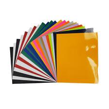 "Iris Heat Transfer Vinyl 10""X 12"" 25 Sheets Assorted Colors"