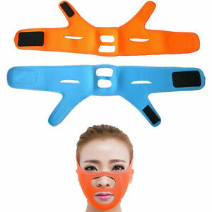 V-Line Lift Up Facial Slimming Strap Anti-Wrinkle Chin Lifting Firming Mask Belt