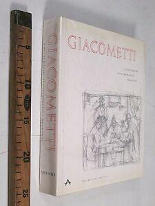 1967 ALBERTO GIACOMETTI A SKETCHBOOK OF INTERPRETATIVE DRAWINGS DISEGNI INGLESE