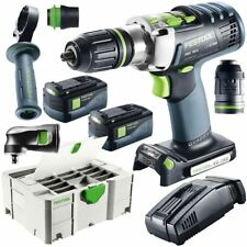 Festool Tournevis Batterie PDC 18/4 Li 5,2 Ensemble XL 574704 perceuse Bohr