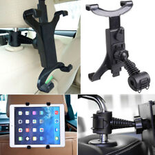 "360°Car Seat Back Headrest Mount Holder 7-11""Tablet For IPad Mini GPS Bracket RF"