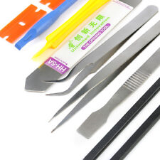 10 in 1 Universal Smart Phone Repair Metal Pry Opening Tool Set Plastic Spudger