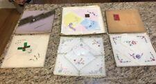 Vintage Ladies Handkerchiefs Lot Of 15 Floral Prints In Original Packaging
