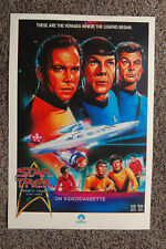 Star Treck TV Home Video  Lobby Card Movie Poster William Shatner Leonard Nimoy