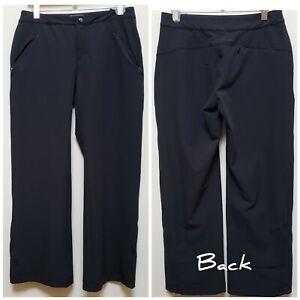 Women's L.L. Bean Black Outdoor Hiking Pant Size 10 See Description
