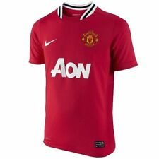 Maillots de football rouge Nike taille S