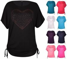 Viscose Batwing, Dolman Sleeve Machine Washable Plus Size Tops & Blouses for Women