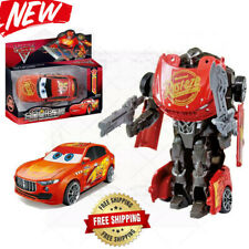 Cars Lightning Mcqueen Transformers Robot Toy Kids Toys Disney Model Robot 2020