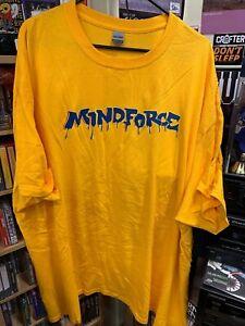 Mindforce (Yellow XXXL 3XL T-shirt) NYHC Triple B Records