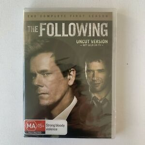 The Following : Season 1 (DVD, 4-Disc Set) Brand New Factory Sealed