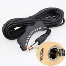 Classical Acoustic Guitar Amplifier Soundhole Pickup 6.3mm Jack 5M Cable #ORP