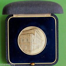 Cased Silver Medallion House of Risparmio Province of Lombardy Bertoni SNo35084