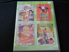 The Legend of Prince Valiant Felix The Cat Flash Gordon Nutcracker Prince 2xDVD