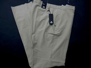 New ADIDAS Ultimate 365 golf beige pants slacks Men's BIG & TALL Size 44