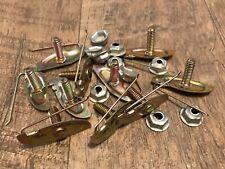 Body door fender bolt in moulding trim clips & nuts 1