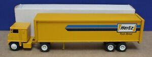 Winross 1:64 White 7000 Semi  Hertz Truck Rental VNM Boxed 1975