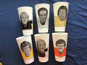 1976 MSA NFL SLURPEE CUPS COMPLETE SET 1- 20 CUPS NEW OLD STOCK