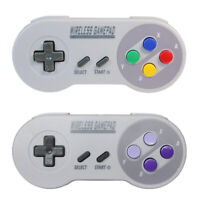 Wireless USB SNES Controller Gamepad & Receiver for PC MAC Raspberry Pi Lot 1/2