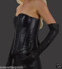 AWANSTAR Opera Damen Lange Lederhandschuhe,Leather Long Gloves,Leder handschuhe