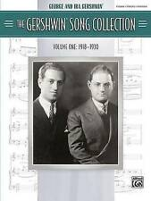 NEW The Gershwin Song Collection Volume One (1918-1930) Piano Vocal Chords Book