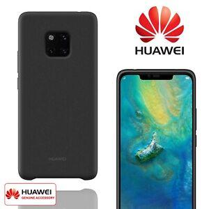 Genuine Silicone Case Huawei Mate 20 Pro Black Cover Slim Thin Tough