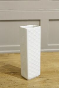 20th Century White porcelain vase #2