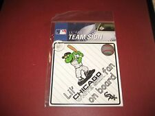 MLB CHICAGO WHITE SOX Lil Fan on Board Signs WINDOW CLING  BRAND NEW