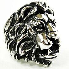 Lion of Judah anillo con gran león Judas bob marley rastafari talla 59