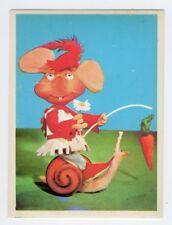 figurina TOPO GIGIO ALBI PER LA GIOVENTU' 1975 EDIZIONI PEREGO IMPERIA num. 157