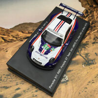 Spark 1:64 Porsche 911 RSR Rothmans 2nd LMGTE 24H Le Mans 2018 #91 Car Model