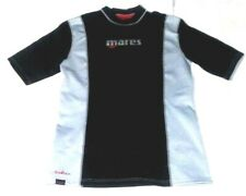 Mares Fire Skin Men's Chillproof Windproof Short Sleeve Guard Size Xl Black