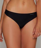 Calvin Klein BLACK Invisibles Thong, US XLarge